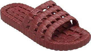 TECS Women's 8841-BR Slide Sandal, Brown 9 M US