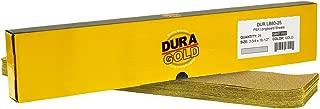 Dura-Gold - Premium - 80 Grit Gold - Pre-Cut Longboard Sheets 2-3/4