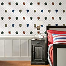 RoomMates Harry Potter House Crest Peel and Stick Wallpaper