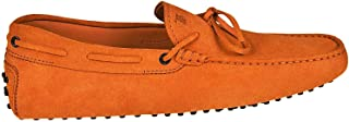 TOD'S Men's XXM0GW05470RE0G812 Orange Suede Loafers