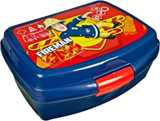 Undercover FSBT9901 Fireman Sam Lunch Box-Blue