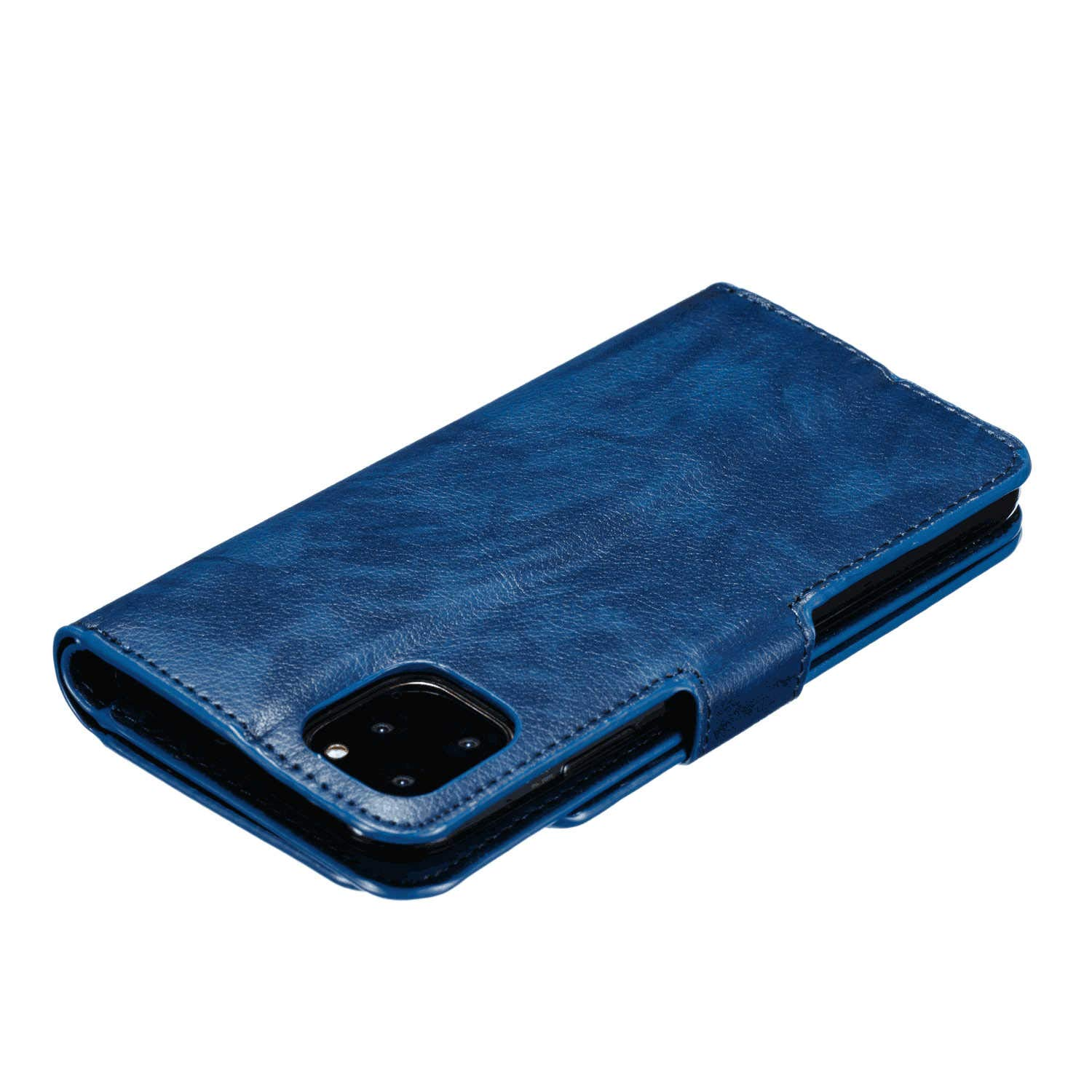Extra-Protective Card Holders Kickstand Leather Cover Wallet for Samsung Galaxy S20 Flip Case Fit for Samsung Galaxy S20