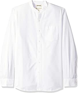 Marca Amazon - Goodthreads – Camisa Oxford de manga larga