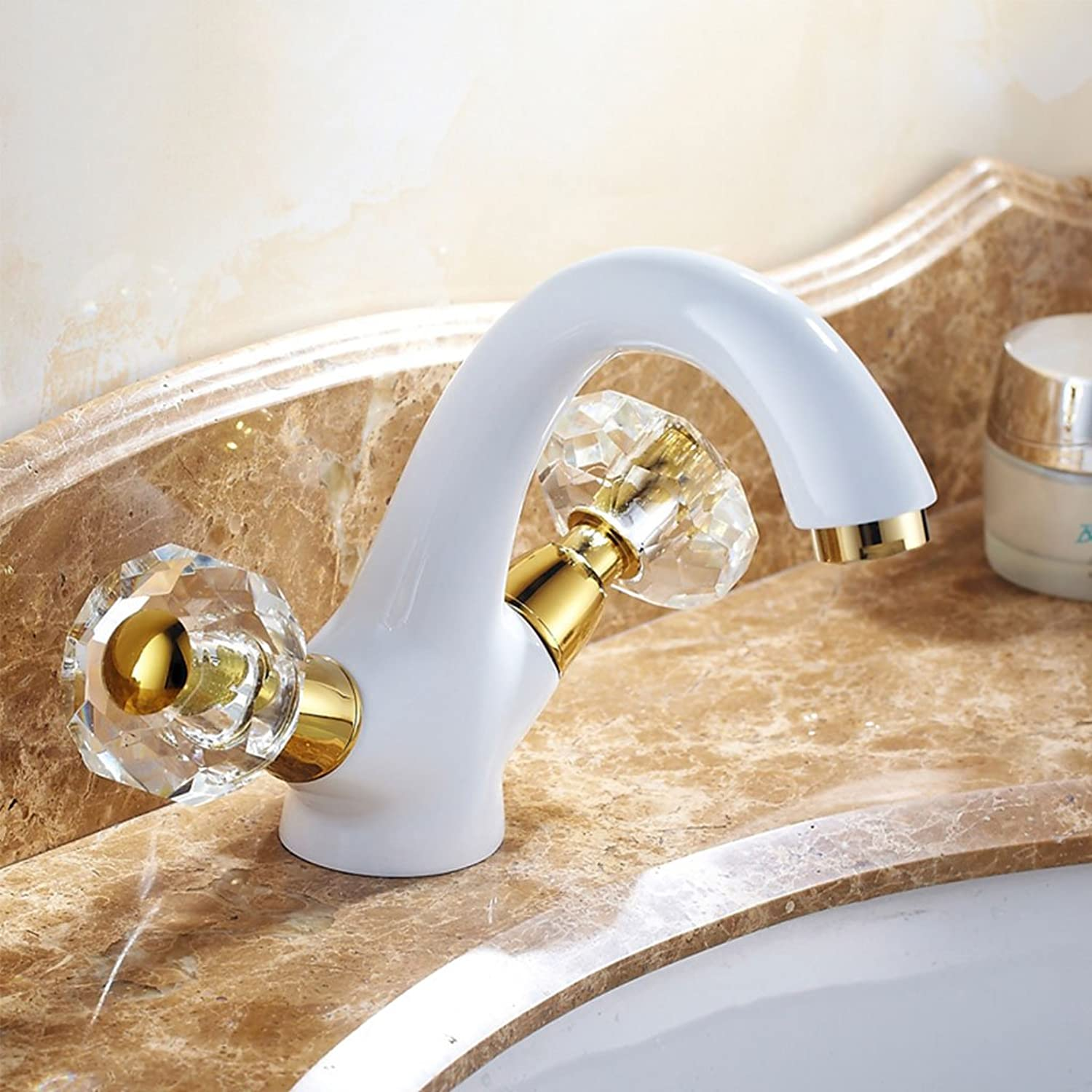 CHENGYI Home High-end Luxury Basin Mixer Creative Fashion Bathroom Kitchen Hot and Cold Faucet
