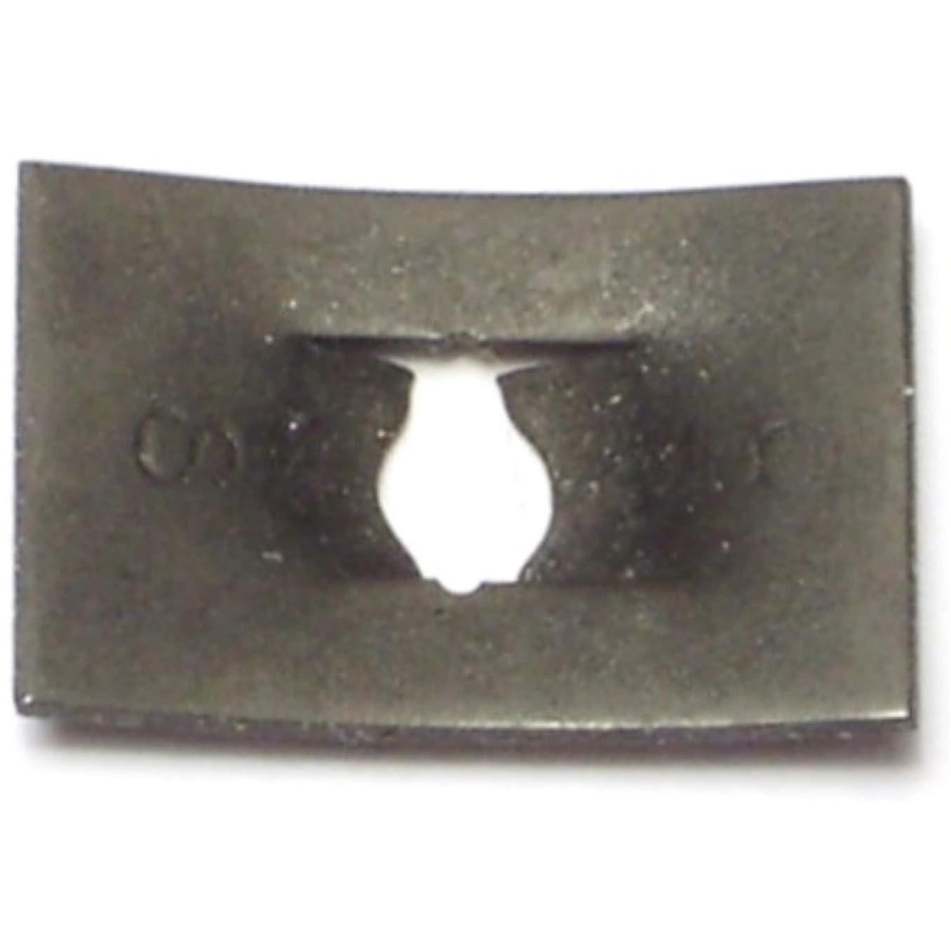 Hard-to-Find Fastener 014973324360 Flat Speed Nuts for Sheet Metal Screws, 8, Piece-48