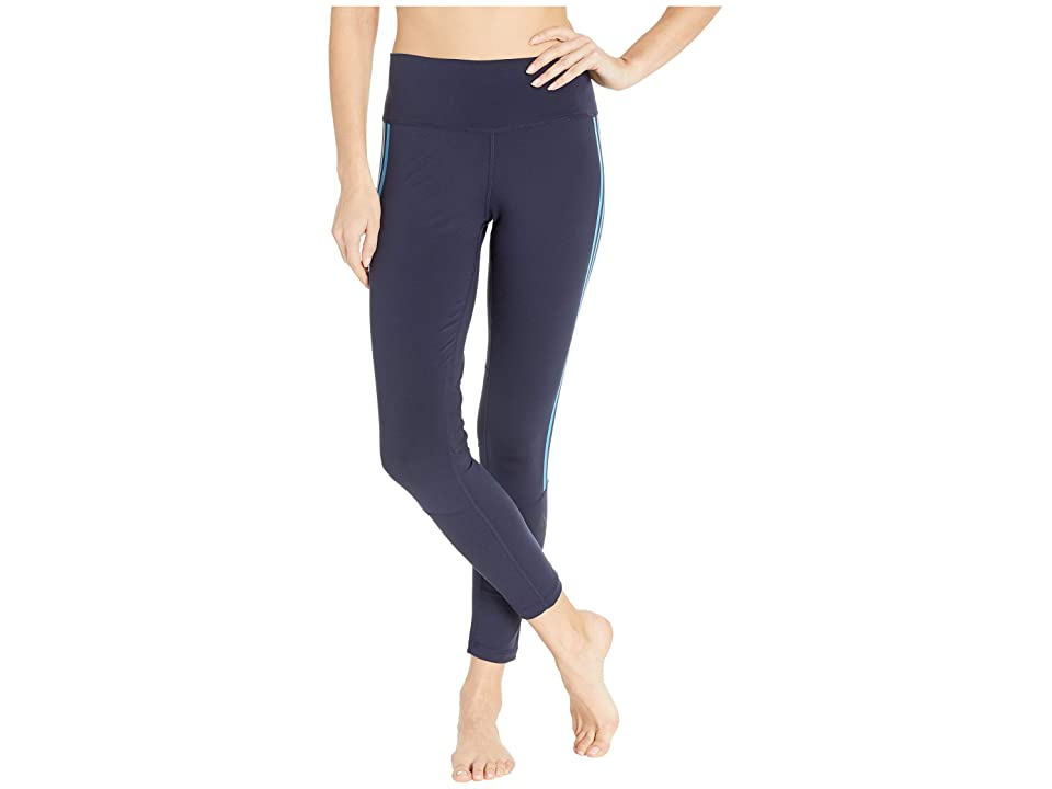 adidas Believe This High-Rise 3-Stripes 7/8 Tights (Legend Ink/Ash Grey) Women