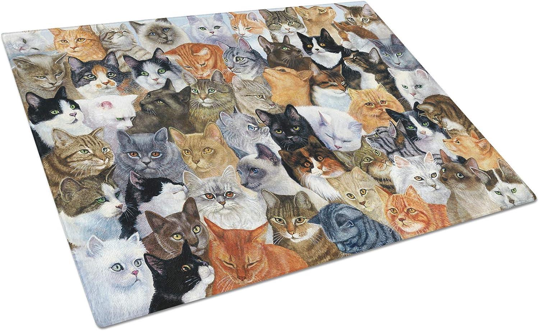 55% OFF Classic Caroline's Treasures BDBA0414LCB Cats Board Cutting Glass Galore
