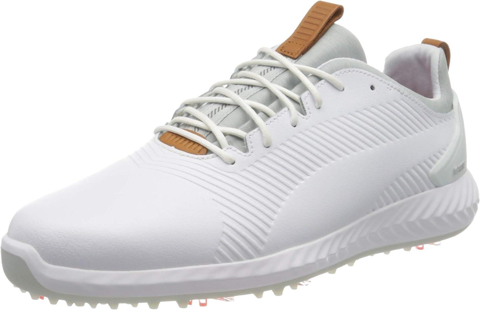 Puma Golf Men's Ignite Pwradapt Leather 2.0 Golf Shoe
