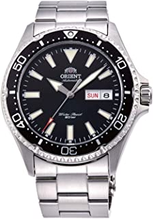Orient Mens Automatic Watch, Analog Display and Stainless Steel Strap RA-AA0001B19B
