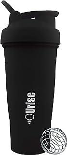 زجاجة شاكر خالية من ثنائي الفينول أ من اورايز، كوب 600 مل/20 اونصة لخلط البروتين مع كرة مزج معدنية