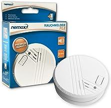 1x NEMAXX FL2 Rookmelder- hoogwaardige Rookdetector volgens EN 14604 met gevoelige foto-elektrische technologie