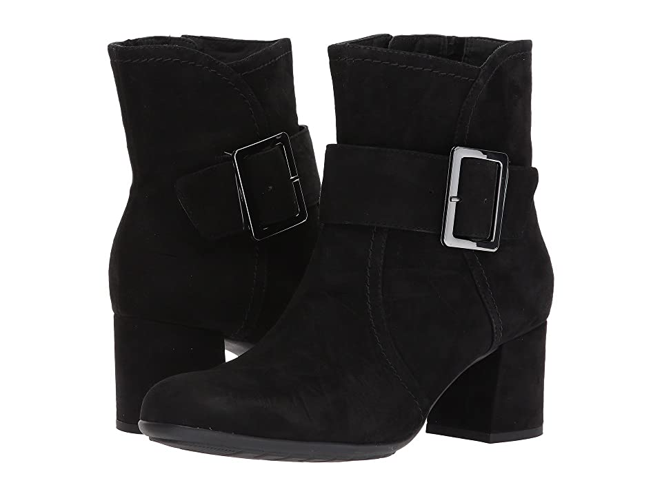 Earth Athena Earthies (Black Suede) Women
