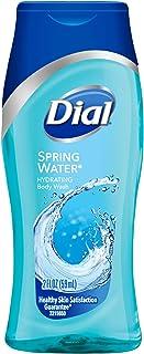 Dial 1781251 Spring Water Antibacterial Body Wash, 2oz Bottle (Pack of 24)