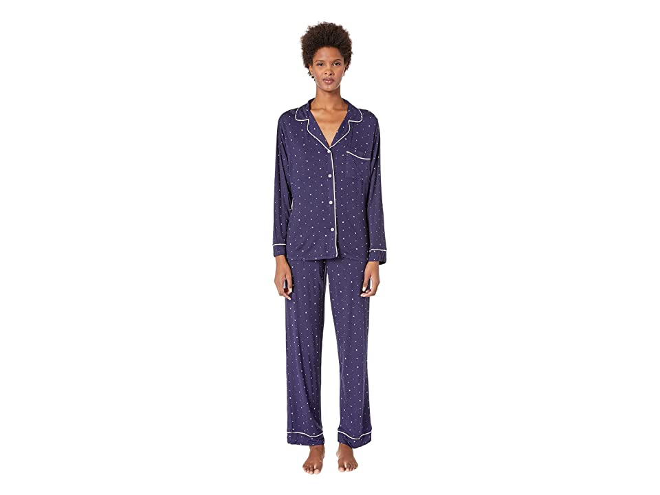 Eberjey Sleep Chic The Long PJ Set (Northern Stars/Ivory) Women