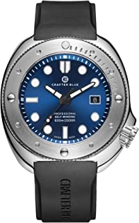 غواص ساعت مردانه Crafter Blue Hyperion Ocean 600M Swiss Made Automatic