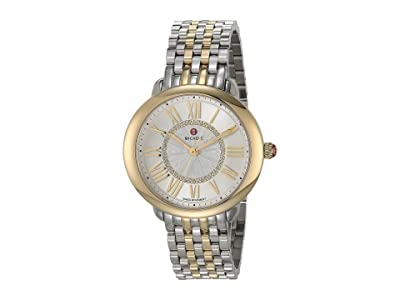 Michele Serein Mid Bracelet (Silver/18K Gold Plating) Watches