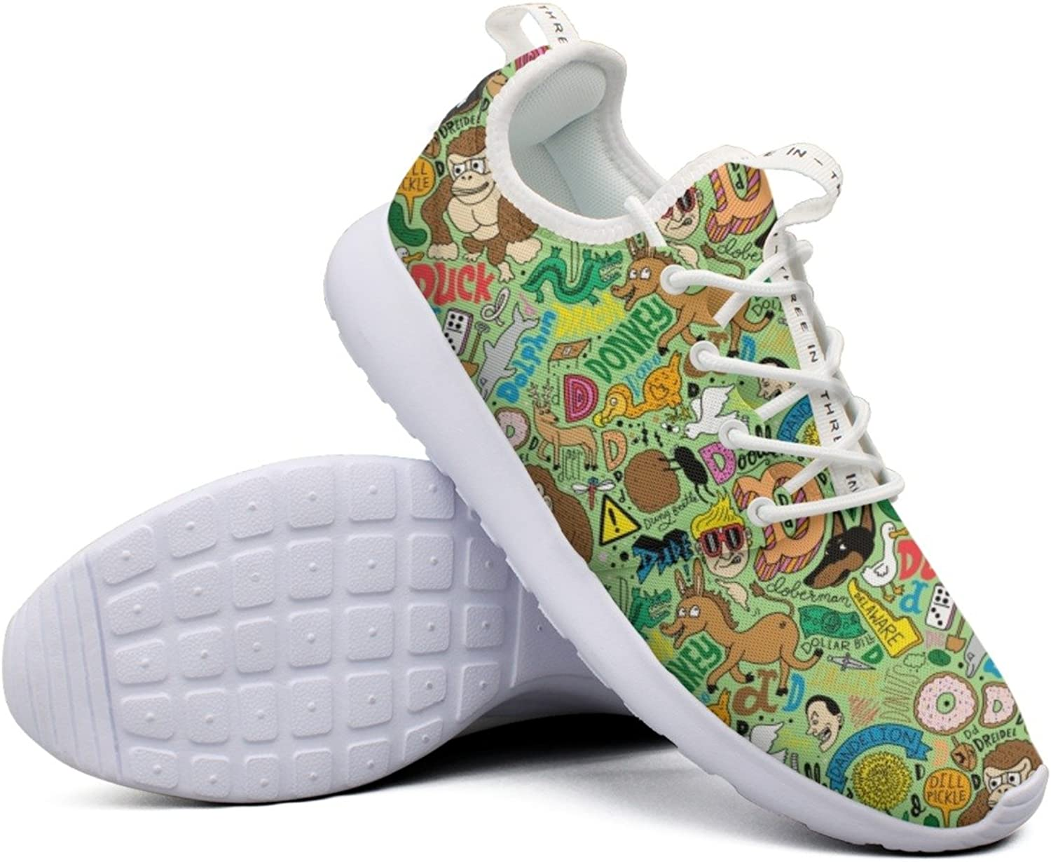 Top All The Animals In The World Women Jogger Sports Running shoes