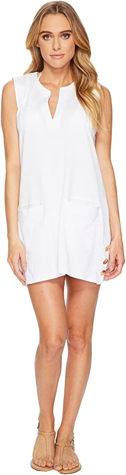 LAUREN Ralph Lauren Button Tunic Cover-Up