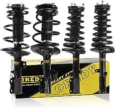 OREDY Complete Set of 4 Strut Shock Coil Spring Assembly Kit Front and Rear Full SR4055 SR4151 SR4054 SR4150 SR4059 SR4058 Compatible with 2002 2003 LEXUS ES300 2002 2003 TOYOTA CAMRY