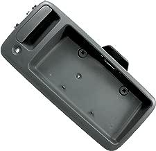 APDTY 112823 Exterior Rear Cargo Door Handle w/License Plate Bracket Holder Fits 1996-2010 Chevy Express 1500 2500 3500 Van 1996-2010 GMC Savana 1500 2500 3500 Van (Replaces GM 15269298)