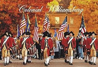 Colonial Williamsburg, Virginia, Historic District, Civil War Reenactment, Souvenir Magnet 2 x 3 Fridge Magnet