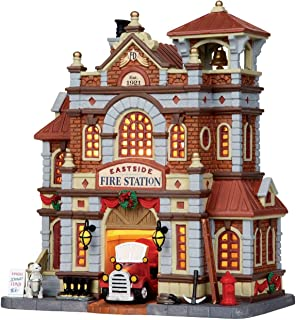 department 56 fire station