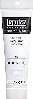 Best Liquitex Professional Heavy Body Acrylic Paint, 4.65-oz Tube, Titanium White Review
