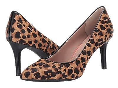 Rockport TM75MMPTH Plain Pump (Tan Leopard) Women