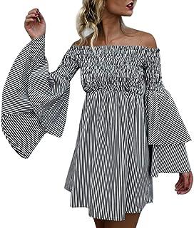 fa909b684a5c Suchergebnis auf Amazon.de für: bunte streifen - Kleider / Damen ...