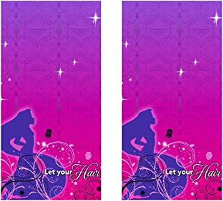Disney Tangled Sparkle Party Plastic Tablecovers - 2 Pieces
