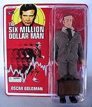 Bif Bang Pow! Oscar Goldman Six Million Dollar Man Action Figure w/Briefcase!