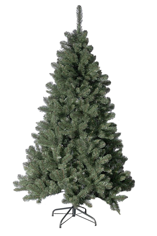 Sapin de Noël 210 cm avec effet de neige DEL Arbre de Noël Kunstbaum Noël