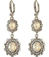 Marchesa - Pearl Double Drop Earrings