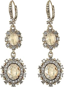 Pearl Double Drop Earrings