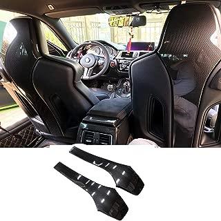 Fandixin Carbon Fiber Seat Back Backseat Trim Covers 4 PCS for BMW F80 M3 F82 M4