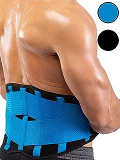 Goldenstarsport Most Effective Waist Trainer – Premium Quality Waist Trainer for Weight Loss – Comfortable Waist Trimmer – Versatile Waist Belt - Magical Sweat Belt for Quicker Inch and Pounds Loss