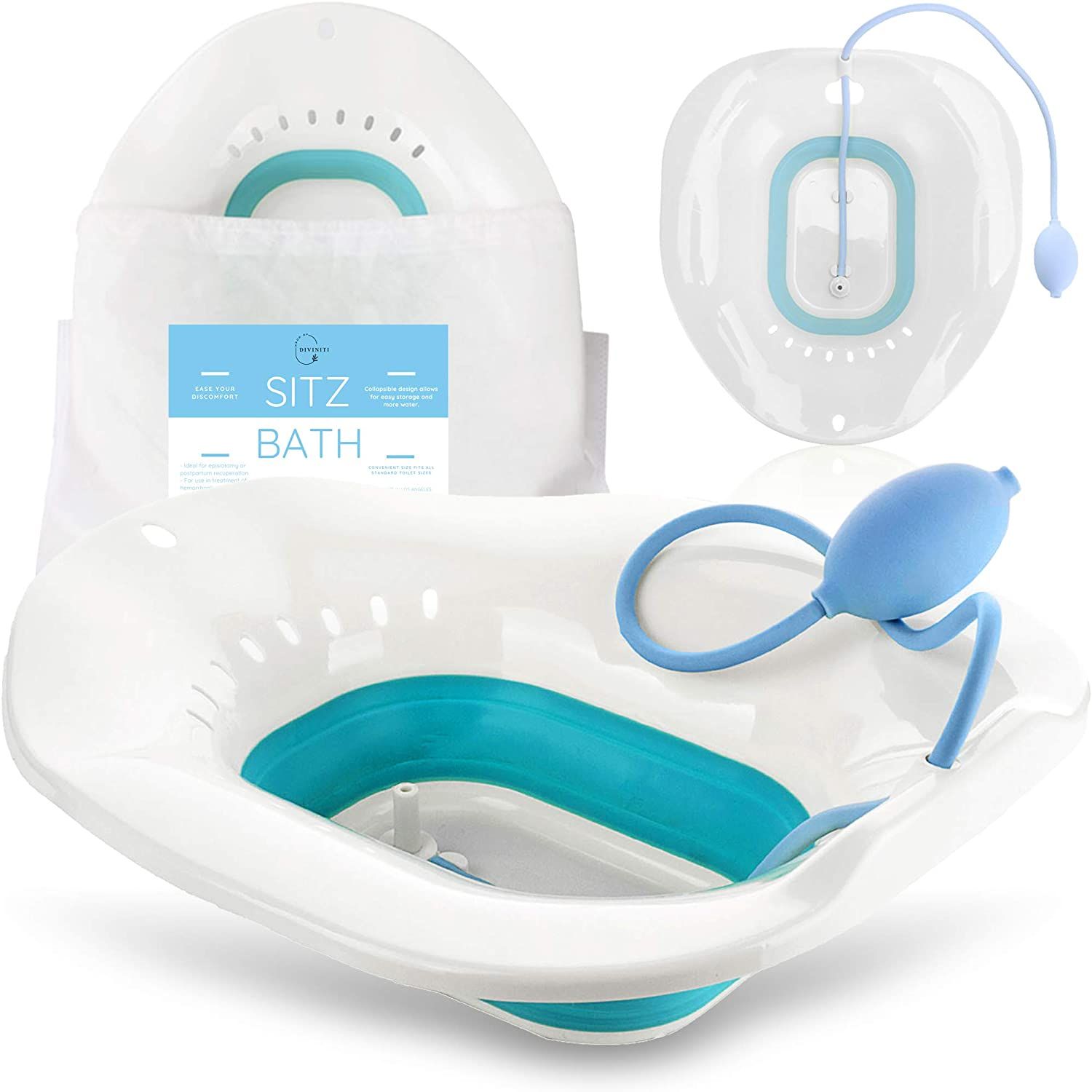 Max 48% OFF Sitz Bath Large special price !! for Toilet Seat Care Postpartum Soothes - Hemorrhoids