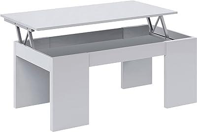 Habitdesign 001640A - Mesa de Centro elevable, mesita de ...