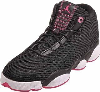 Jordans Girl's Jordan Horizon Low Walking Shoes Black/Vivid Pink-White