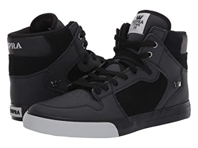 Supra Vaider (Black/Light Grey/Black) Skate Shoes