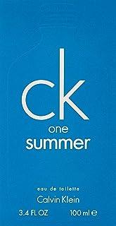 Calvin Klein CK One Summer for Unisex, 3.4 oz EDT Spray (2018 Limited Edition)