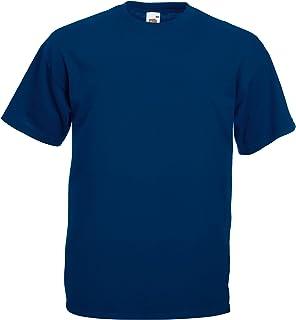 Fruit of the Loom Männer T-Shirt Super Premium T 61-044-0 S 3XL Herren Rundhal