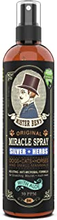 MISTER BEN'S Original Miracle Hot Spot Itch Skin Spray – Advanced Relief Formula - Herbs + Colloidal Silver 50 PPM - Dogs ...