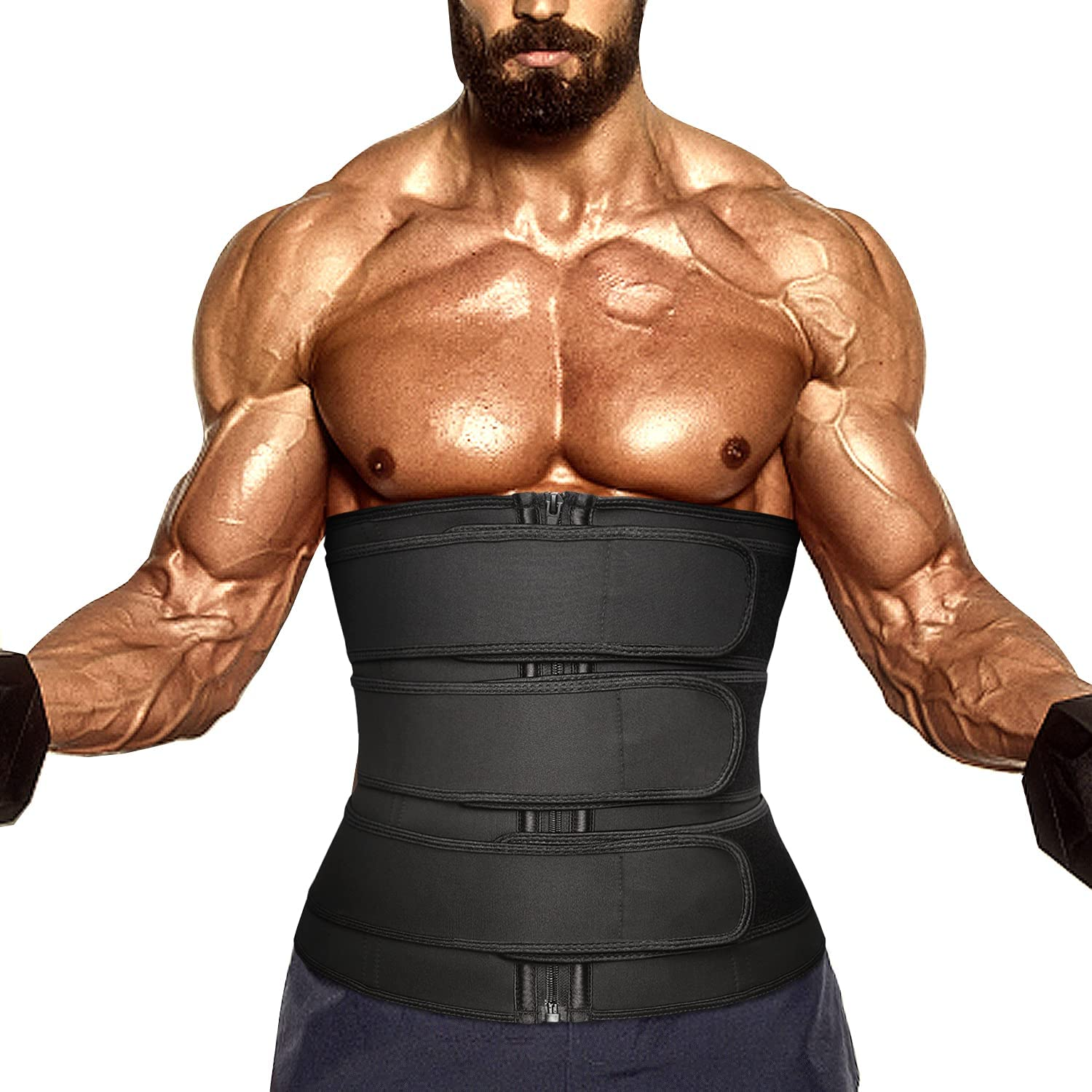 Waist Bombing free shipping Trainer For Ranking TOP13 Men Neoprene Corse Workout Trimmer Sweat