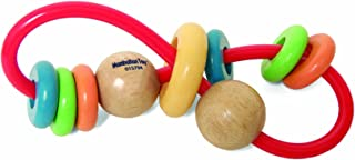 Manhattan Toy Skwinkle Teether and Rattle Activity Clutching Toy