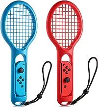 Tennis Racket for Nintendo Switch Joy-Con Controller KINGTOP Twin Pack Tennis Racket for Nintendo Switch Game Mario Tennis Aces