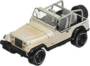 Greenlight 1: 64 Hitch & Tow Series 8 - The Walking Dead - Michonne's Jeep Wrangler YJ & Utility Trailer with Zombies Diecast Vehicle