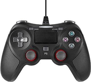 SSRT Controlador de jogo USB com fio para Playstation 4, joysticks de gamepad profissional com fio para Playstation 4 PS4 ...