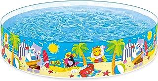 Intex Seahorse Buddies Kids 8 Foot x 18 Inch Instant Kiddie Water SnapSet Swimming Pool
