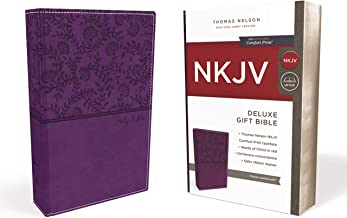 NKJV, Deluxe Gift Bible, Leathersoft, Purple, Red Letter Edition, Comfort Print: Holy Bible, New King James Version